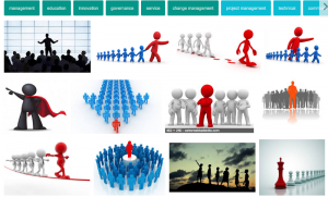 the images that are returned when a google image search is done on leadership is completely male dominated